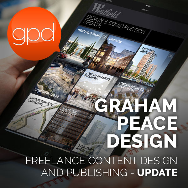 Graham Peace Design. Graham Peace Design (GPD) offers a freelance publishing consultation service. Designing, developing and delivering clients branded content - cost effectively - across multiple platforms and media.